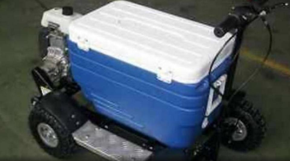 A generic photo of a motorised esky. Source: Facebook