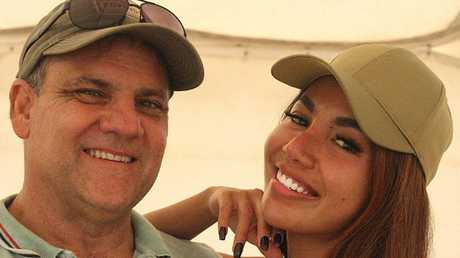 Peter Lynch and Endah Cakrawati who died in a plane crash in Perth on Australia Day.