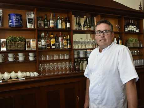 Inbound restaurant at the Railway will open for dinner Friday and Saturday nights. Inbound Toowoomba chef Clayton Costigan.