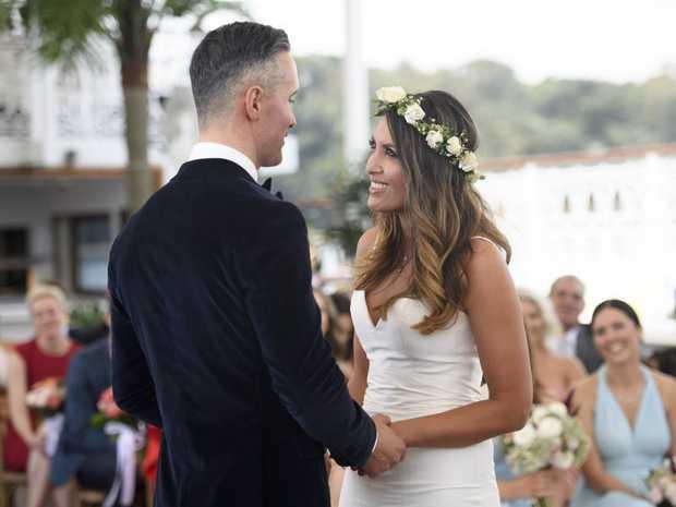 Nadia Uncomfortable Married Sight Wedding Sunshine Marries Anthony Scene Tv
