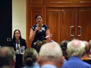 Premier's forum covers Shoalwater, Rookwood, GKI and breasts