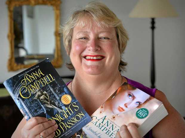 WORDSMITH: Anna Campbell is a finalist in the 2017 ARRA awards.