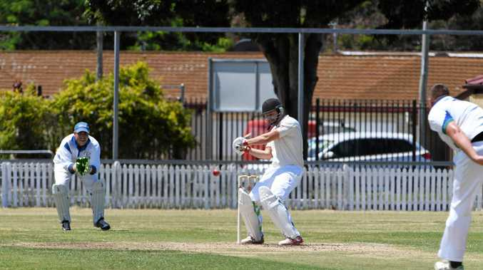 SOLID HIT: Charlie Thompson scored 38 runs for Past Highs as they experienced a reversal of fortune at Salter Oval on Saturday.