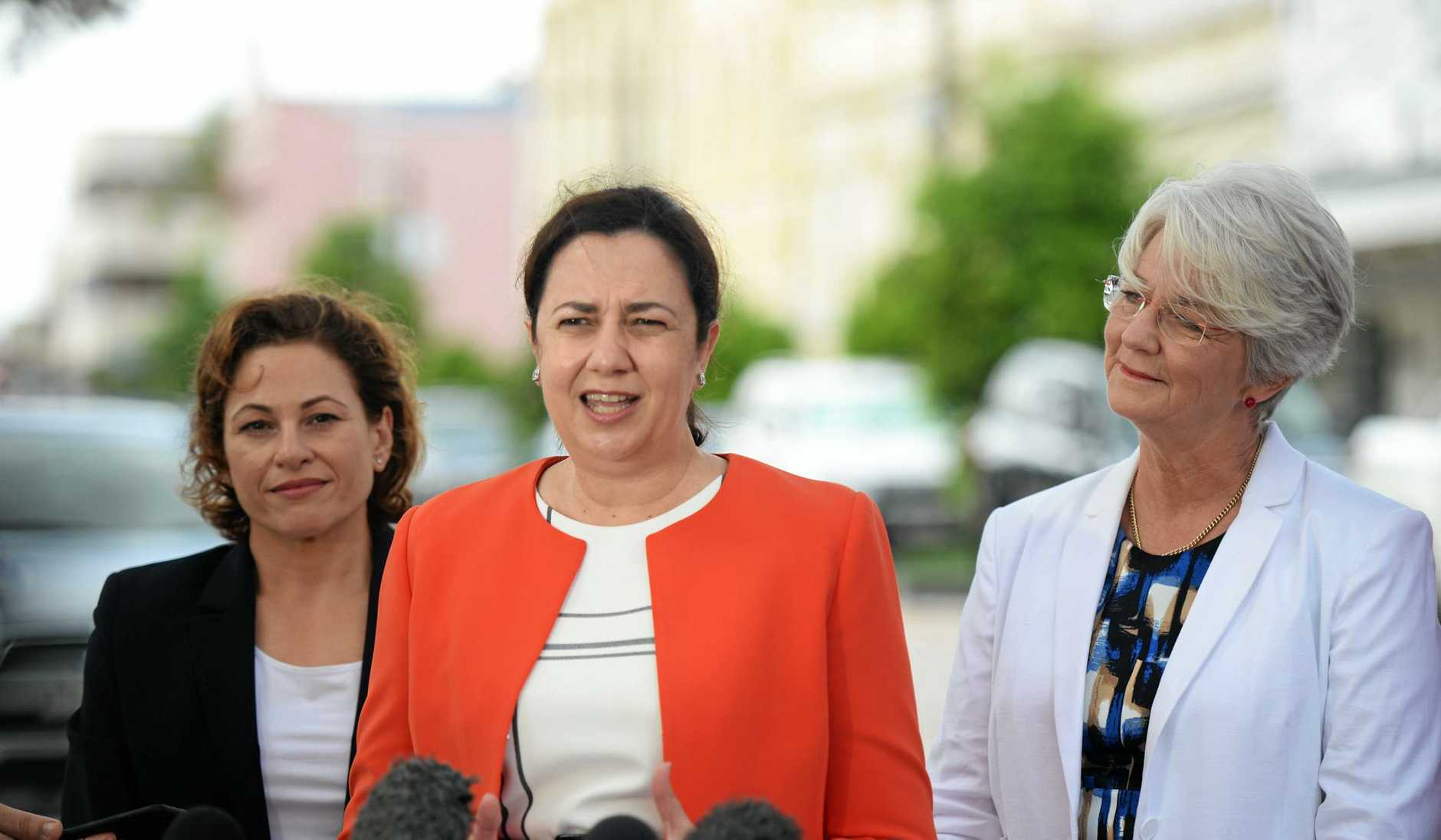 Premier Annastacia Palaszczuk and Deputy Premier Jackie Trad joined Rockhampton Region Mayor Margaret Strelow to officially launch the CBD Redevelopment Framework this morning.