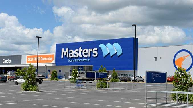 SHOPPER'S PARADISE: The empty Masters building in South Lismore will soon have a new identity. Photo Cathy Adams / The Northern Star