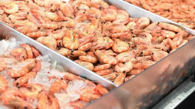 Five kilos of prawns were stolen from a Mackay business.