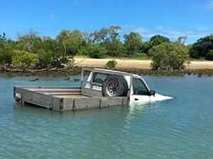 Ute driver in titanic trouble