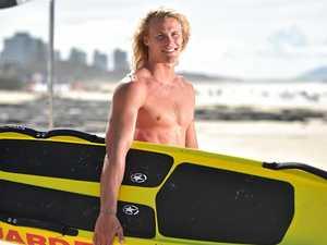 I'm a surf lifesaver...get me back on the box!