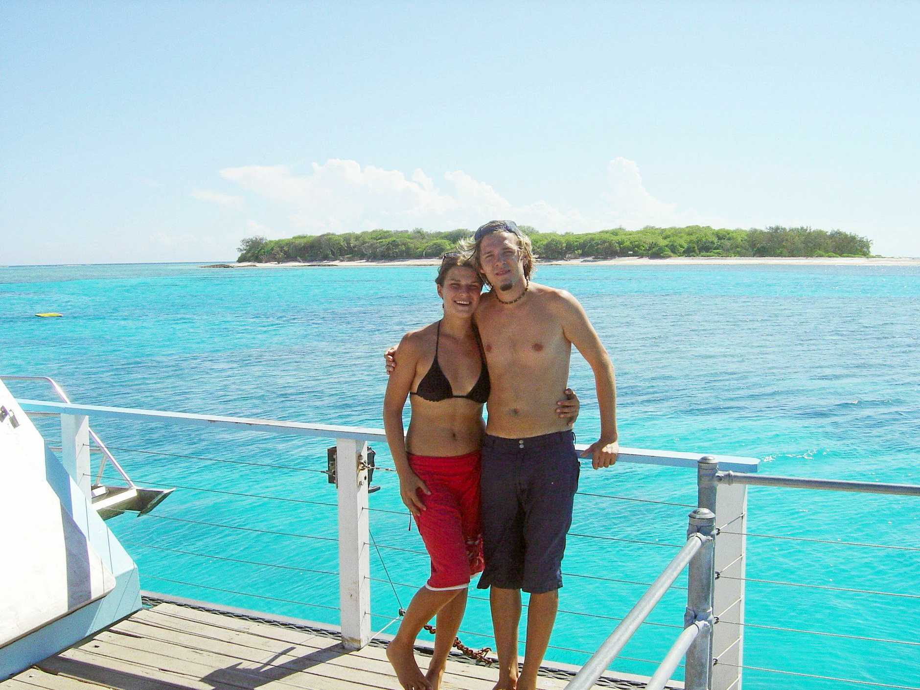 File photo of Simone Strobel and Tobias Suckfuell. Simone Strobel's body was found in Lismore after a week long search. Photo Contributed