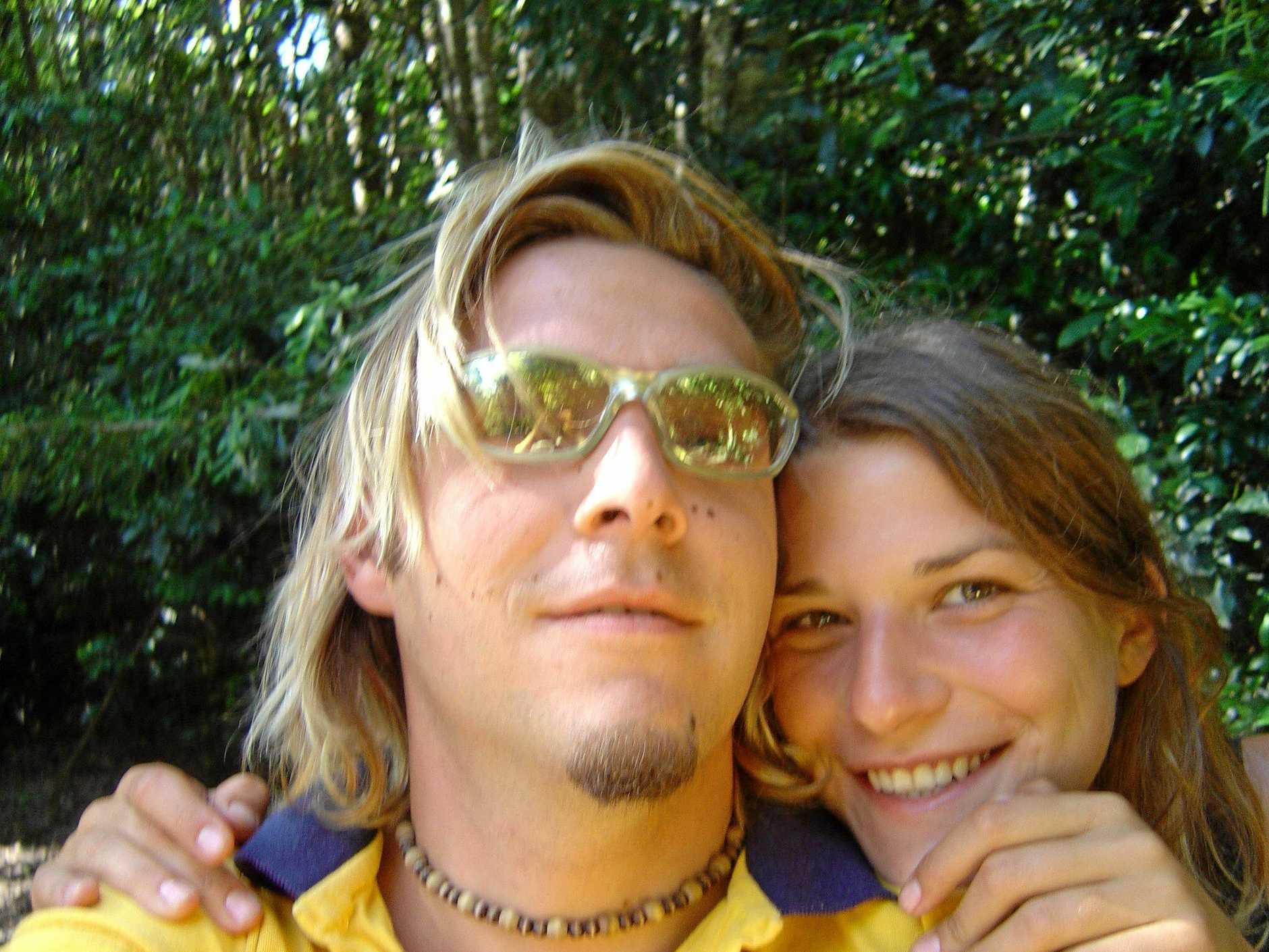 File photo Simone Strobel with Tobias Suckfuell. Photo Contributed