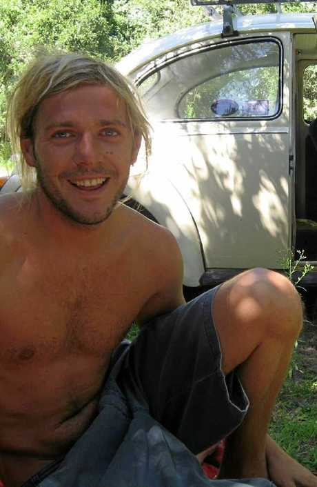 Toby Moran (above) now lives in a Perth beachside suburb and surfs at exotic beachside location.
