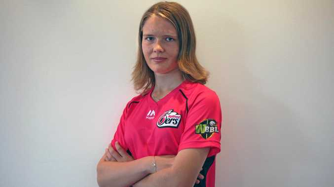 Carly Leeson had her first season in the WBBL playing for the Sydney Sixes, and is now preparing to begin studying at UNSW