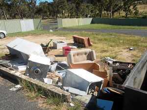 Cameras catch illegal dumpers