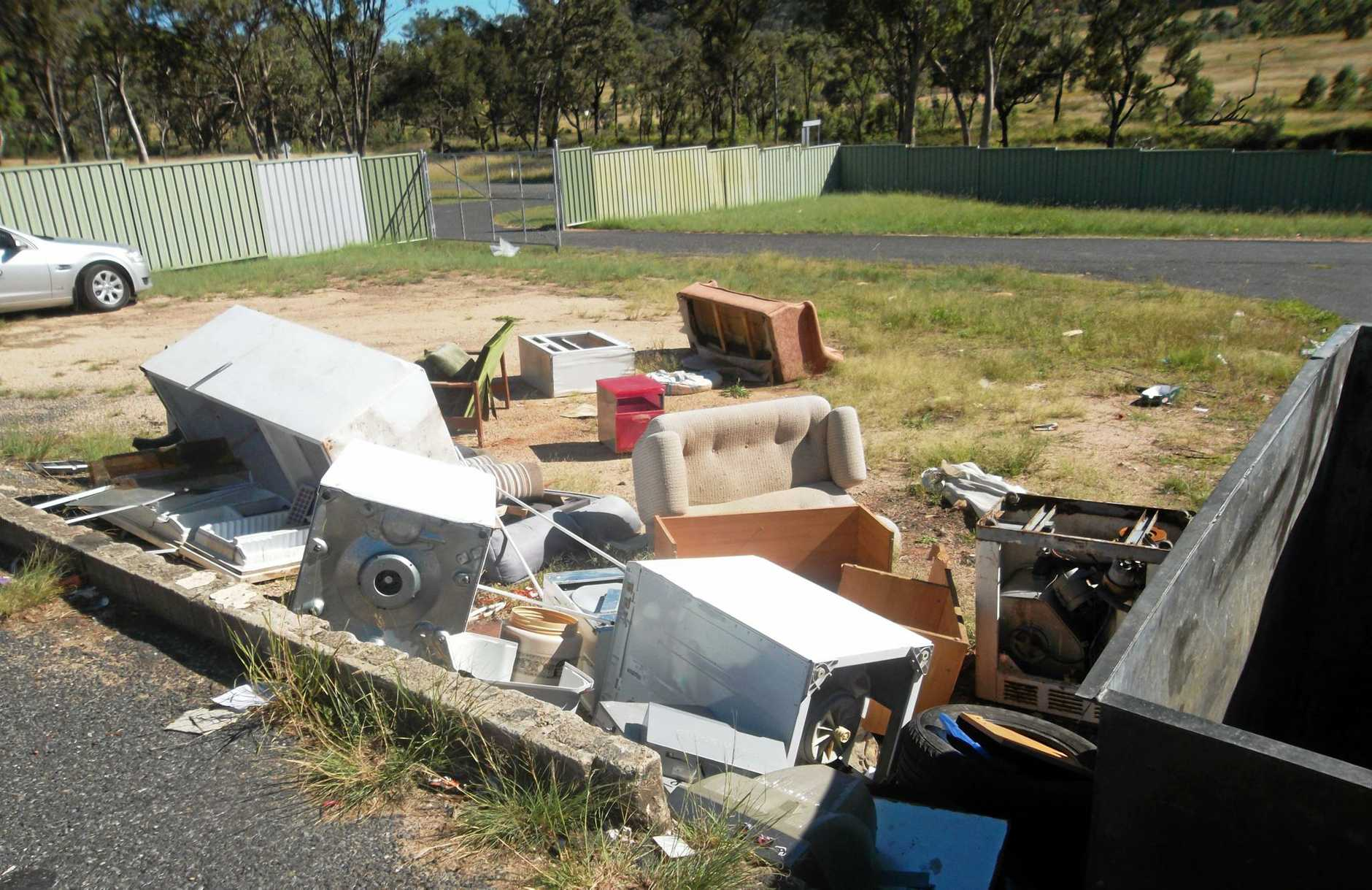 DUMPERS BEWARE: Cameras are helping win the war on illegal rubbish being left around Warwick.