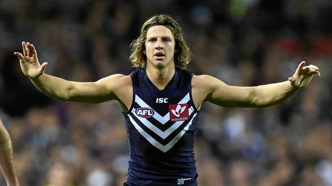 Fremantle Dockers player Nat Fyfe.