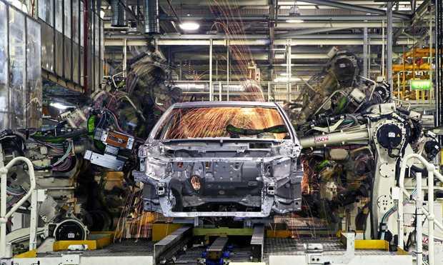 Toyota Australia's Altona manufacturing plant