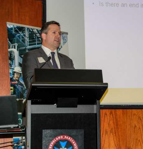 Senex Energy CEO Ian Davies.