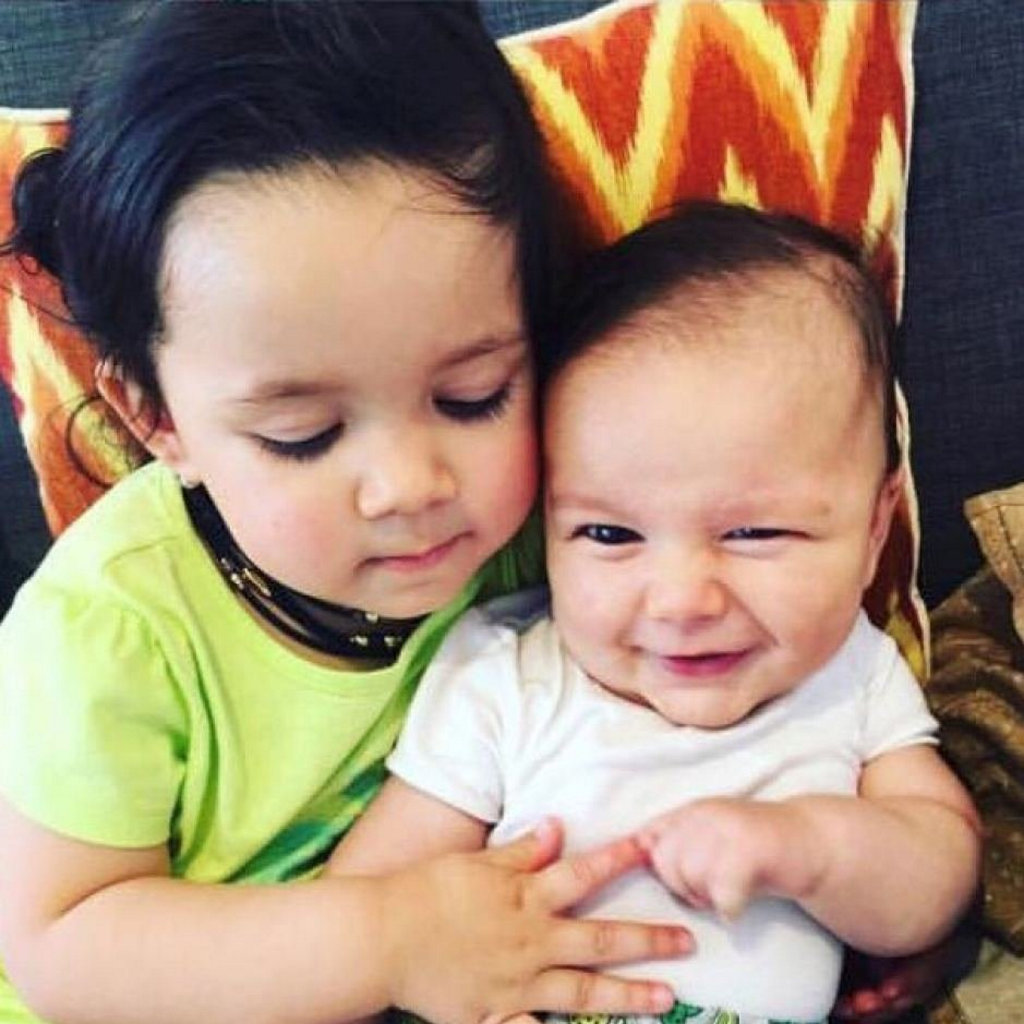 Zachary Bryant (right) with his sister Zara.