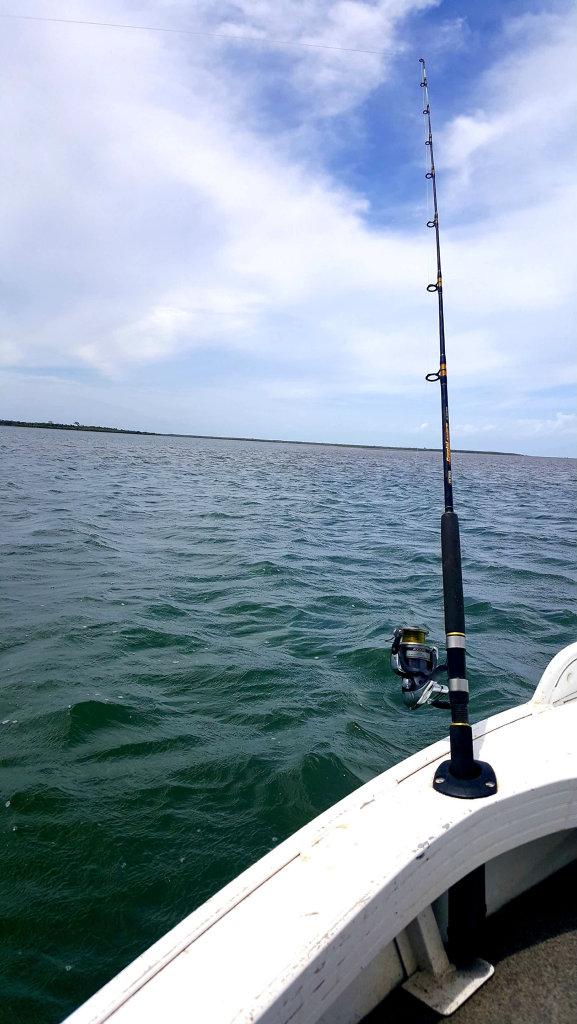 Fishing on the Burdekin River.