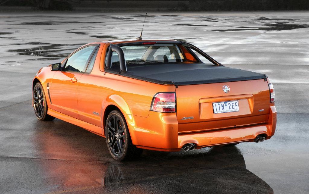 2017 Holden Commodore SS-V Redline ute