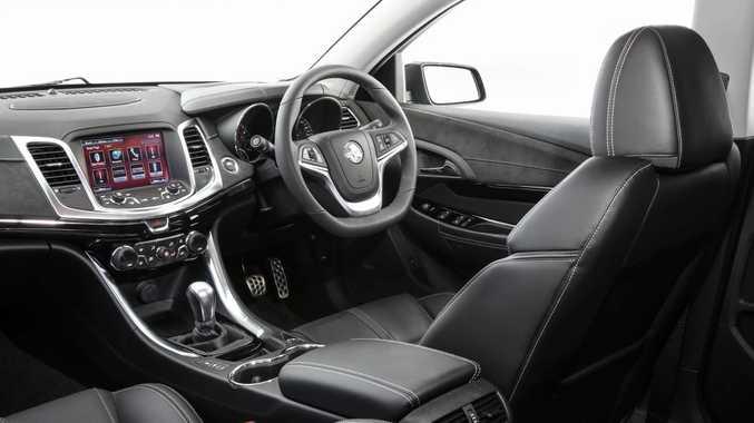 2017 Holden Commodore interior