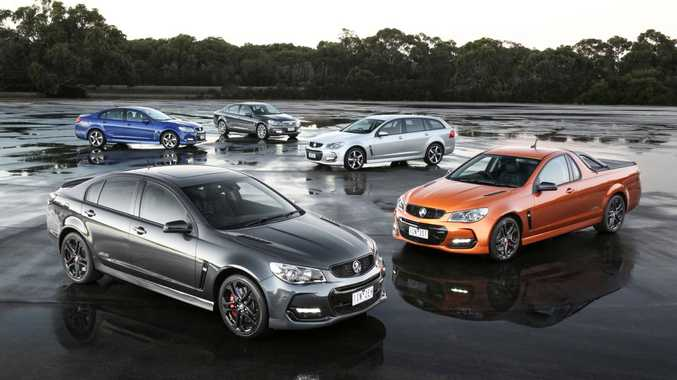 END OF THE ROAD: Specification enhancements and a simplifying of the range for the MY17 Holden Commodores: the final locally-produced examples we'll see.