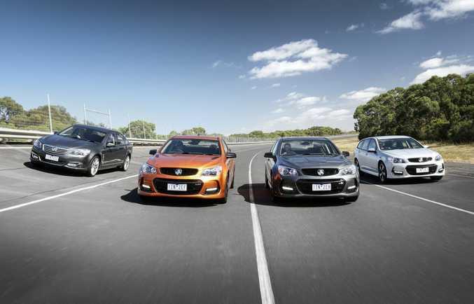 2017 Holden Commodore range