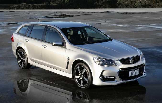 2017 Holden Commodore SV6 Sportwagon