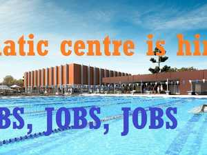 Calling all energetic people: Gympie's new aquatic centre is hiring