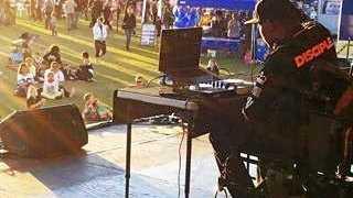 Aspiring DJ Karime Baylis.