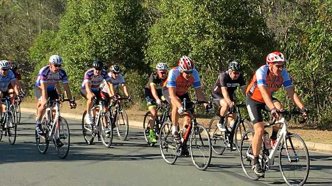 Ballina Masters Cycling Club battled heat and headwinds in their first time trial for 2017.