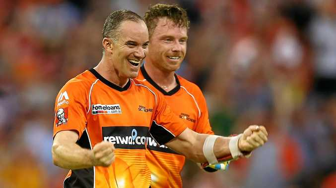 Michael Klinger celebrated winning the Big Bash League final on Saturday. Now he can celebrate a national call-up.