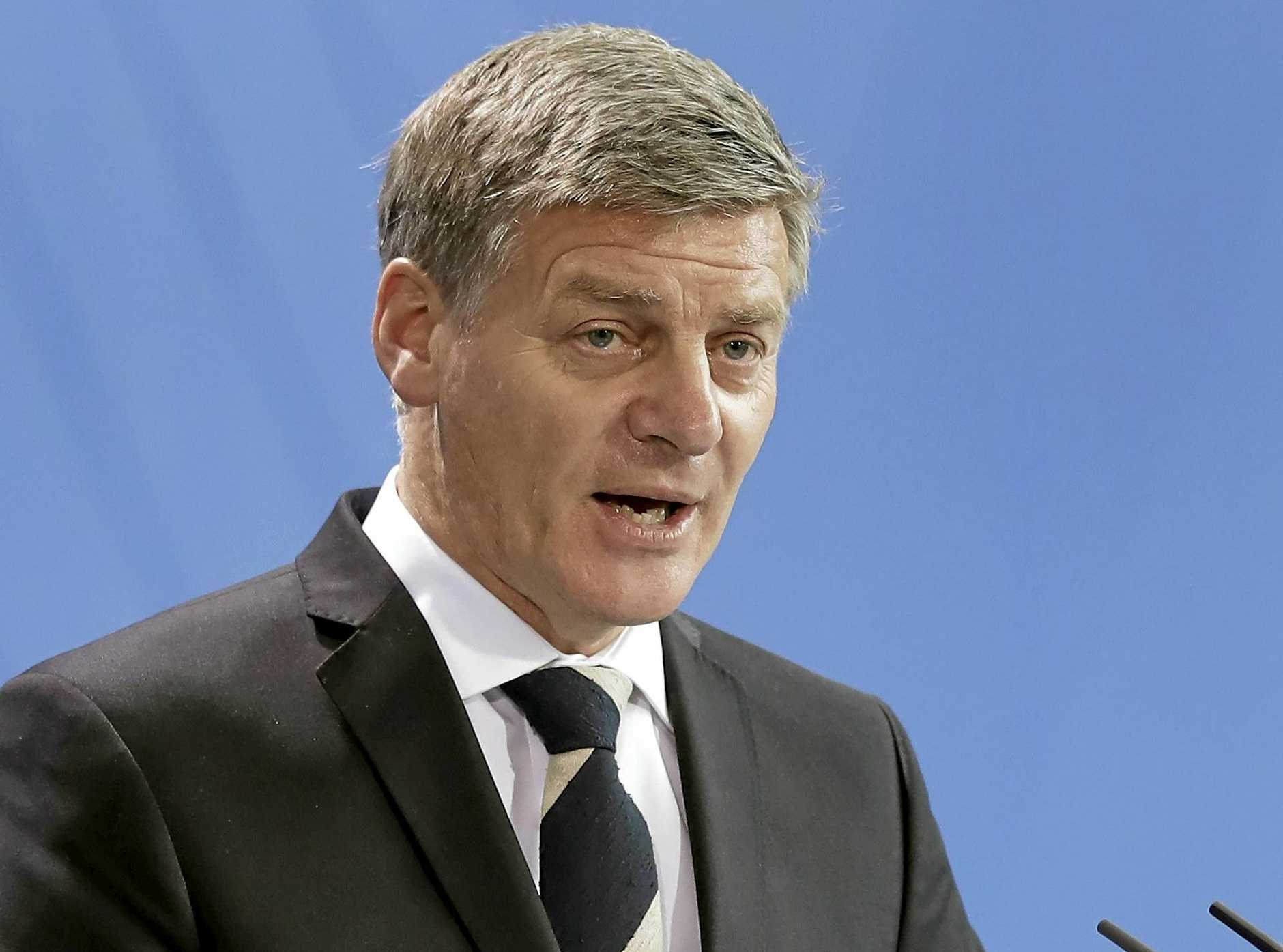 New Zealand's Prime Minister Bill English.