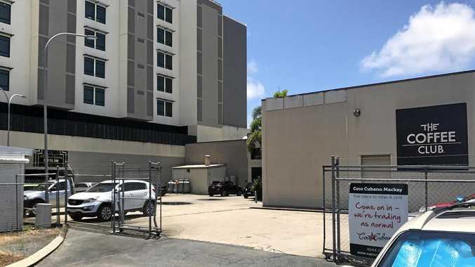 The site where John Cowley wants to build a retirement living unit complex.
