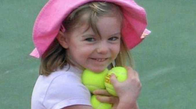 Missing British girl Madeleine McCann before she went missing from a Portuguese holiday complex on Thursday, May 3, 2007.