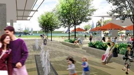 Artists' impressions of the proposed changes.