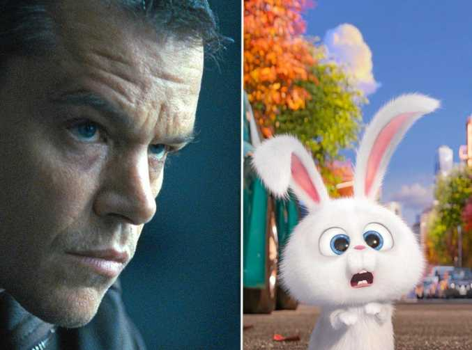 A 34-year-old man has been fined for stealing copies of Jason Bourne and The Secret Life of Pets from Coles supermarket at Sunshine Plaza.