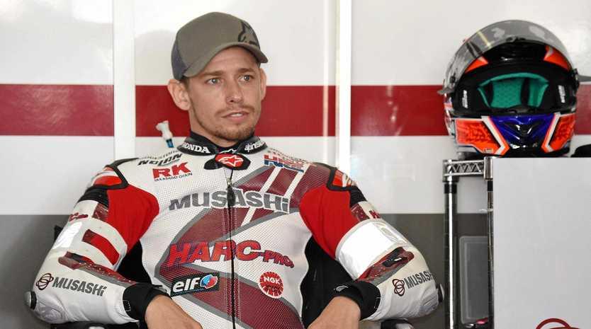 Two-time MotoGP champion Casey Stoner.