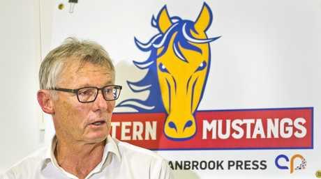 KEY FIGURE: NRL head of football Brian Canavan supports the Western Mustangs.