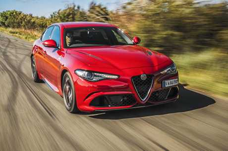 Sitting atop the Alfa Romeo Giulia range is the hero Quadrifoglio that will take the fight to the hallow Mercedes-AMG C63S and BMW M3 priced from $143,900 plus on-roads.
