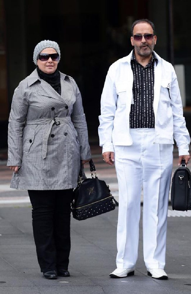Amirah Droudis and Man Monis both murdered, but he left her after dying in the Sydney siege.
