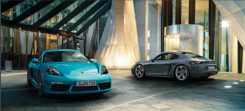 They are beautiful cars but the owners of these Cayman 718s are probably less than pleased to learn their cars are a fire risk.