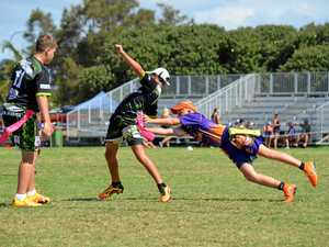Oztag teams do region proud at Junior State Cup