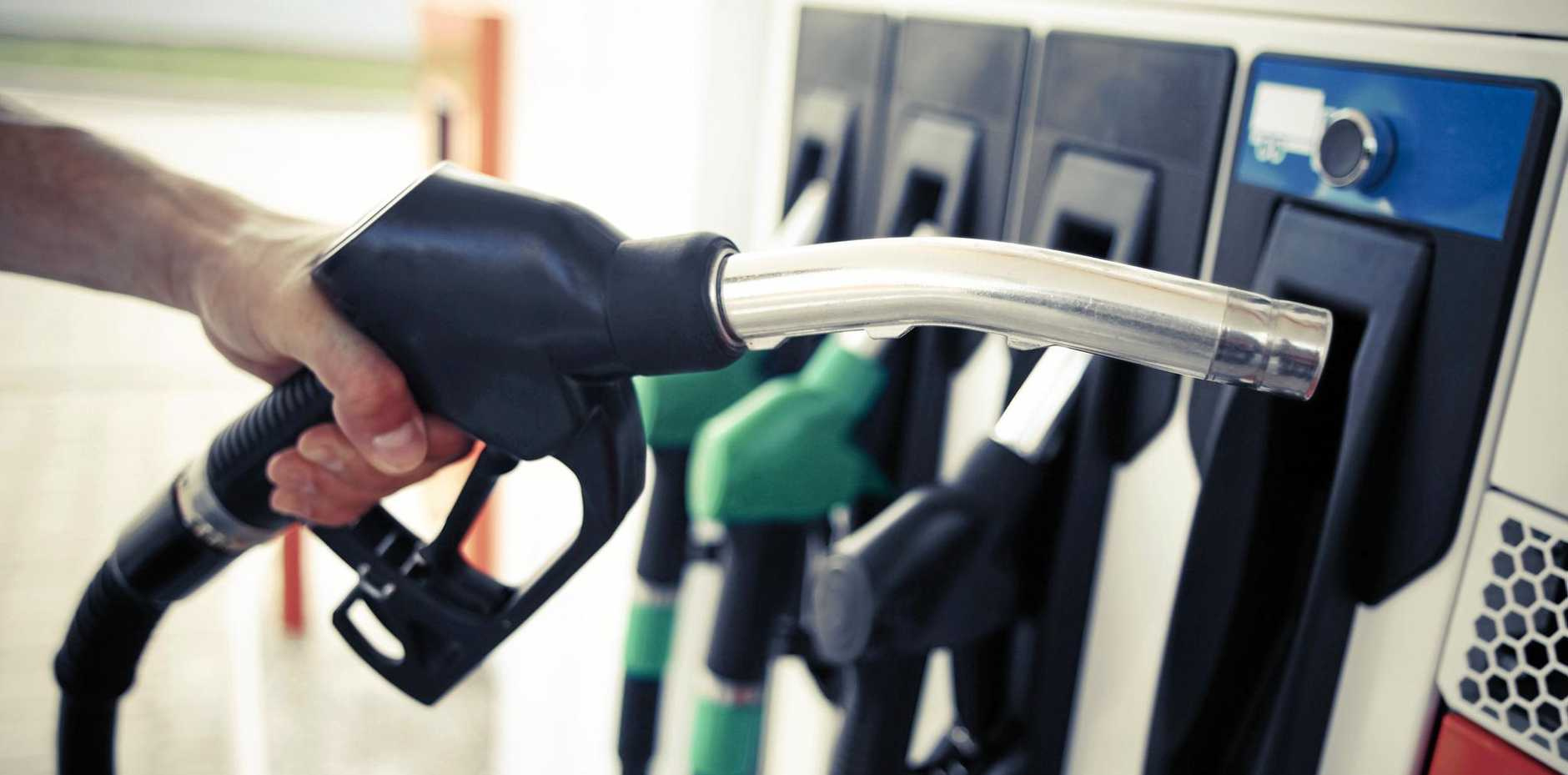 UP AND DOWN: Gympie's petrol prices in 2016 were erratic.