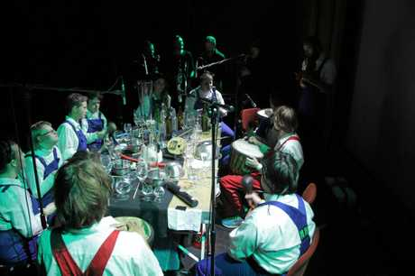 REMONT POMP is an inclusive band using improvisation and sound experiments, formed by members with and without disabilities. Photo Contributed