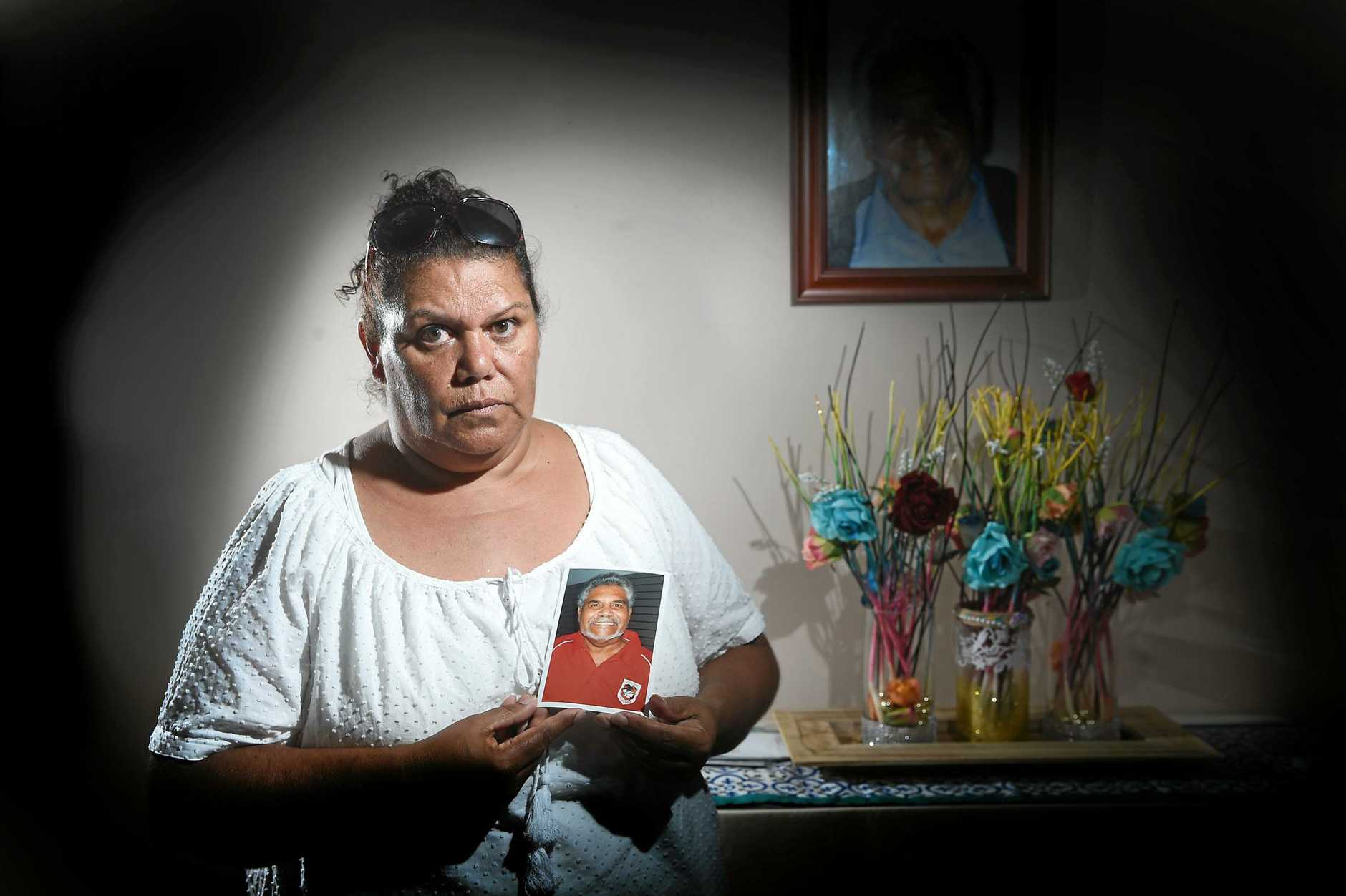 Diane Randall, of Yamba, was exposed to asbestos after it was dumped indiscriminately at Baryulgil.