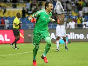 Veteran keeper saves day for Egypt