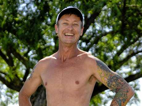 Mathew Cox, a single father caring for two sons, had a bad run after the 2011 floods and is hoping the 4000km run will help boost his self-esteem.