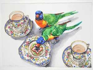 Tea and biscuits exhibition opens today