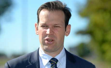 Energy Minister Matt Canavan